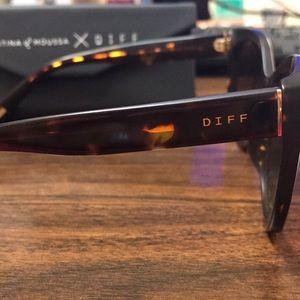 ff0725bde79 Diff Eyewear Accessories - DIFF sunglasses - Christina el Moussa Ruby NWOT